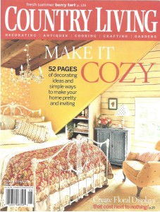 Country living, make it cozy 1